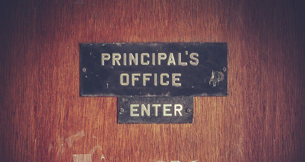 School Principal skills in action behind this door